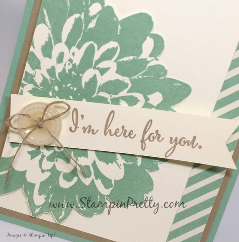 stampin up definitely dahlia sympathy card mary fish stamping pretty blog button