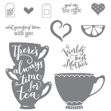 Nice Cuppa Stamp Set Stampin Up