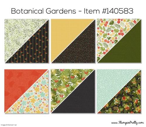Stampin Up Botanical Designer Series Paper