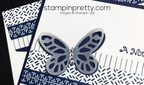 stampin up, Butterfly thinlits and framelits, quick and easy cards - Mary Fish, stampinup