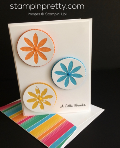 Stampin Up Succulent Thank You cards idea - Mary Fish stampinup