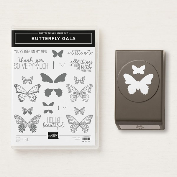 Butterfly Gala Photopolymer Bundle - Images © Stampin' Up!