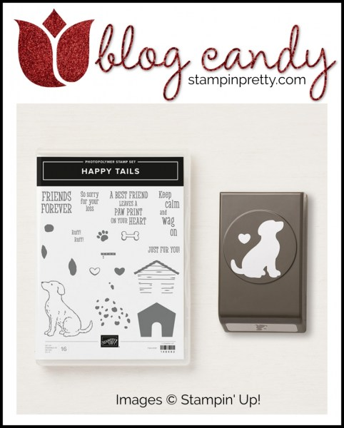 Win Blog Candy - Happy Tails Clear Mount Bundle by Stampin' UP!