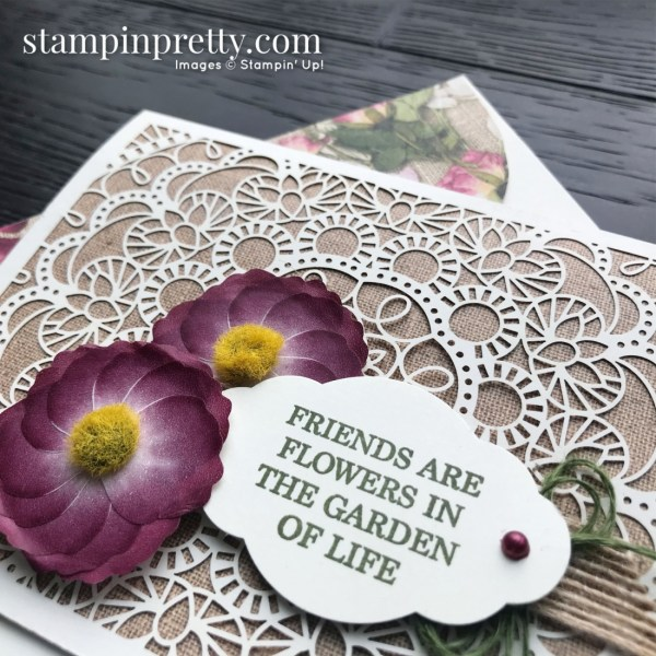Bird Ballad Laser-Cut Cards & Tin by Stampin' Up! Friend Card by Mary Fish, Stampin' Pretty!(1)