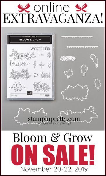 Online Extravaganza 151069 Bloom & Grow Bundle by Stampin' Up!