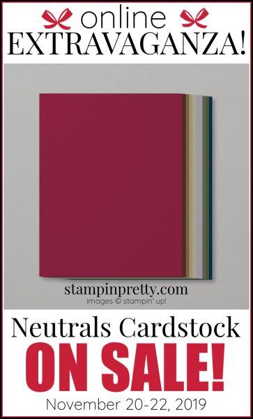 Online Extravaganza Neutrals Cardstock