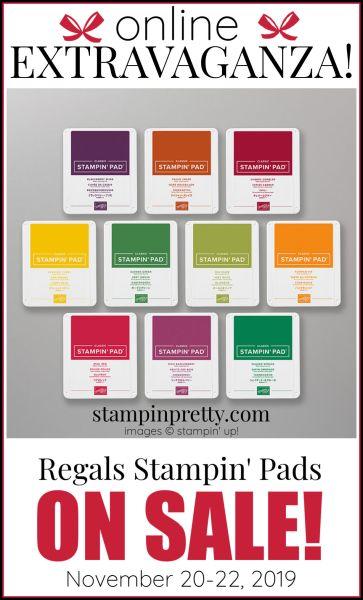 Online Extravaganza Regals Stampin' Pads