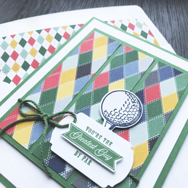 Country Club Designer Series Paper & Clubhouse Bundle from Stampin' Up! Card by Mary Fish, Stampin' Pretty(1)
