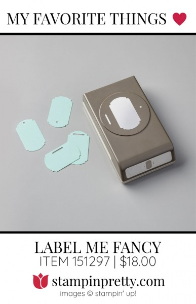 My Favorite Things Label Me Fancy Punch