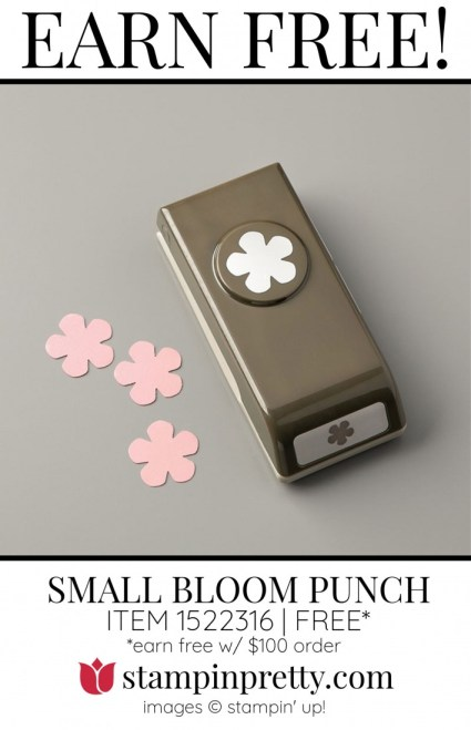 SMALL BLOOM PUNCH 152316 FREE Item