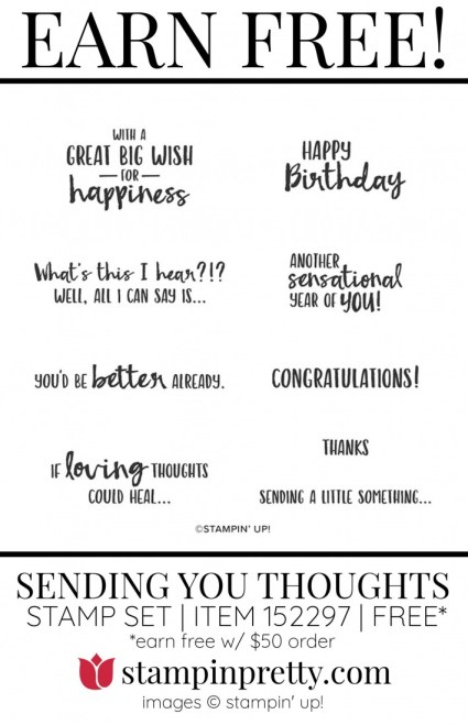 Sending You Thoughts 152297 FREE Item