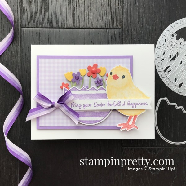 Full of Happiness Stamp Set by Stampin' Up! Cute critters card by Mary Fish, Stampin' Pretty for the Pals March 2020 Blog Hop