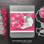 To A Wild Rose Stamp Set and Wild Rose Dies from Stampin