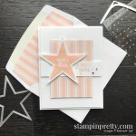 Create this card using the Morning Star Stamp Set by Stampin