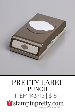 Pretty Label Punch by Stampin' Up! 143715