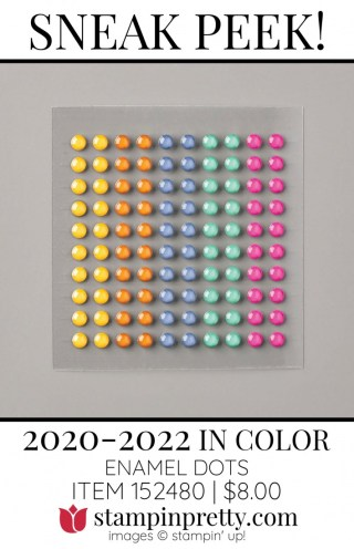 2020-2022 In Color Enamel Dots by Stampin' UP! 152480