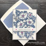 Create this Birthday Card using the Blossoms In Bloom Bundle from Stampin