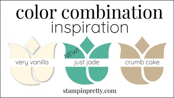 Color Combinations Just Jade Very Vanilla Crumb Cake