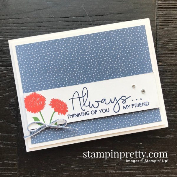 Field of Flowers Stamp Set Bundle by Stampin' Up! Card created by Mary Fish, Stampin' Pretty (1)