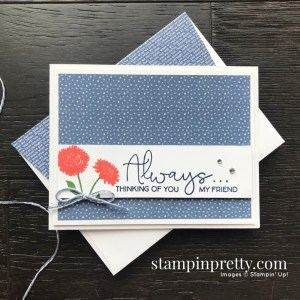 Field of Flowers Stamp Set Bundle by Stampin' Up! Card created by Mary Fish, Stampin' Pretty