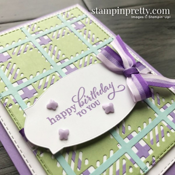 Create this card using the Best Year Bundle from Stampin' Up! Card created by Stesha Bloodhart, Stampin' Hoot! (1)