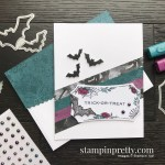 SNEAK PEEK! Create this halloween card using the Magic in this Night Suite from Stampin