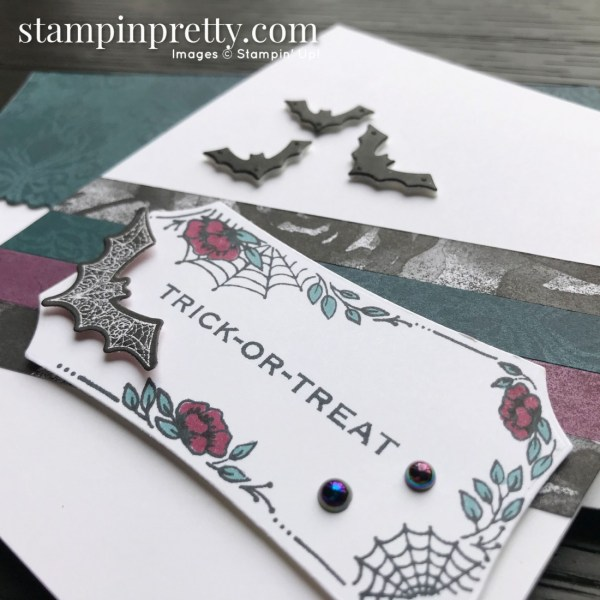 SNEAK PEEK! Create this halloween card using the Magic in this Night Suite from Stampin' Up! Available August 4, 2020. Mary Fish, Stampin' Pretty