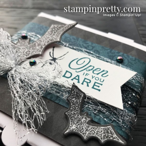 Magic In This Night Suite from Stampin' Up! Halloween Mini Pizza Box by Mary Fish, Stampin' Pretty