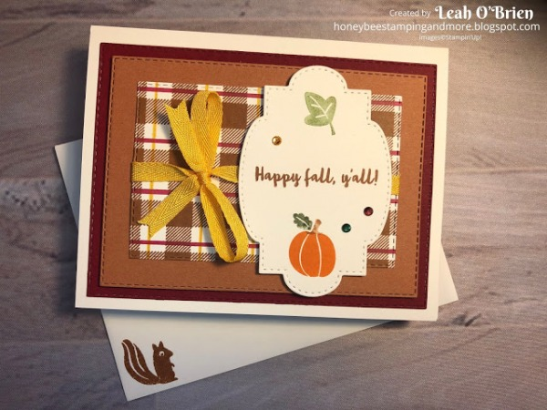 Stampin' Pretty Pals Sunday Picks 08.09 Leah O'Brien