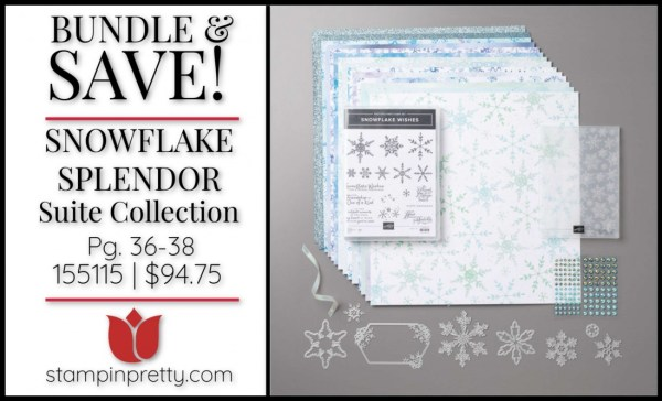 Bundle & Save Snowflake Splendor Suite Collection from Stampin' Up! 155115 $94.75