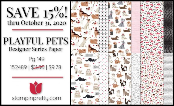 Playful Pets DSP 152489 $11.50 On Sale Through October 31