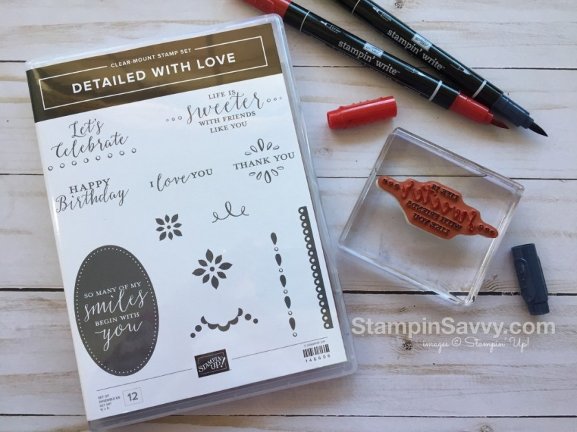 stamping with markers