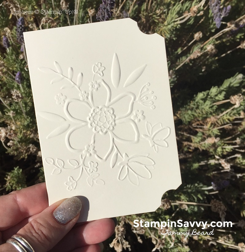 handmade-note-cards-embossed-lovely-floral-embossing-folder-stampin-up-stampin-savvy-stampinup-tammy-beard