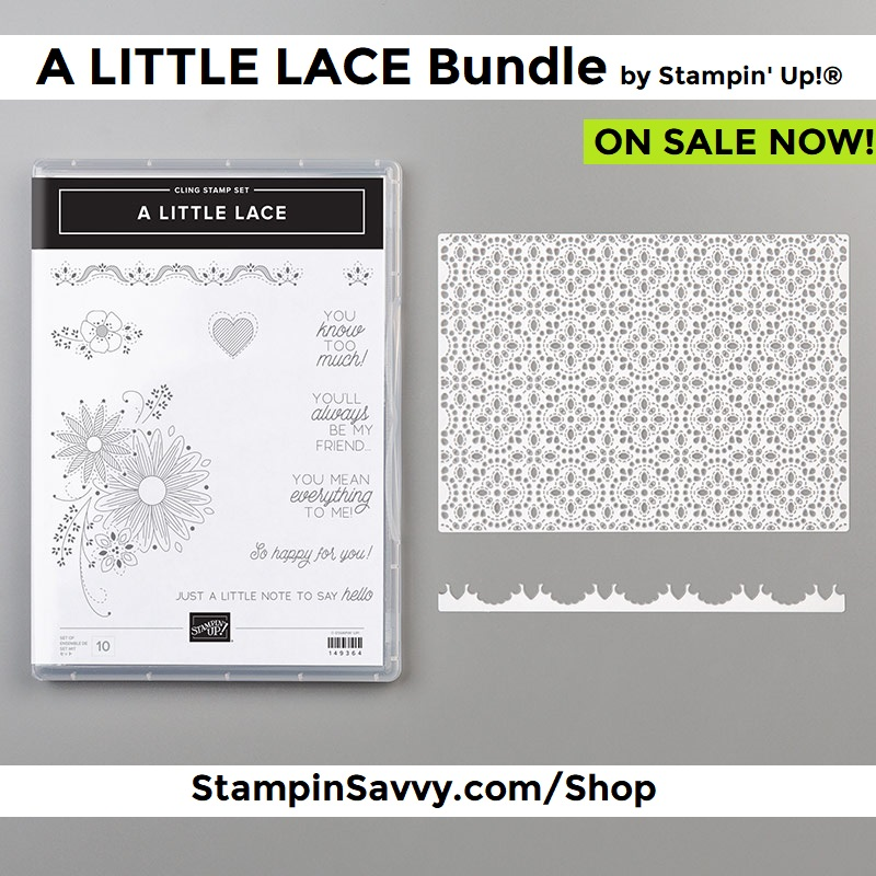A Little Lace Stamp & Die Bundle by Stampin' Up!