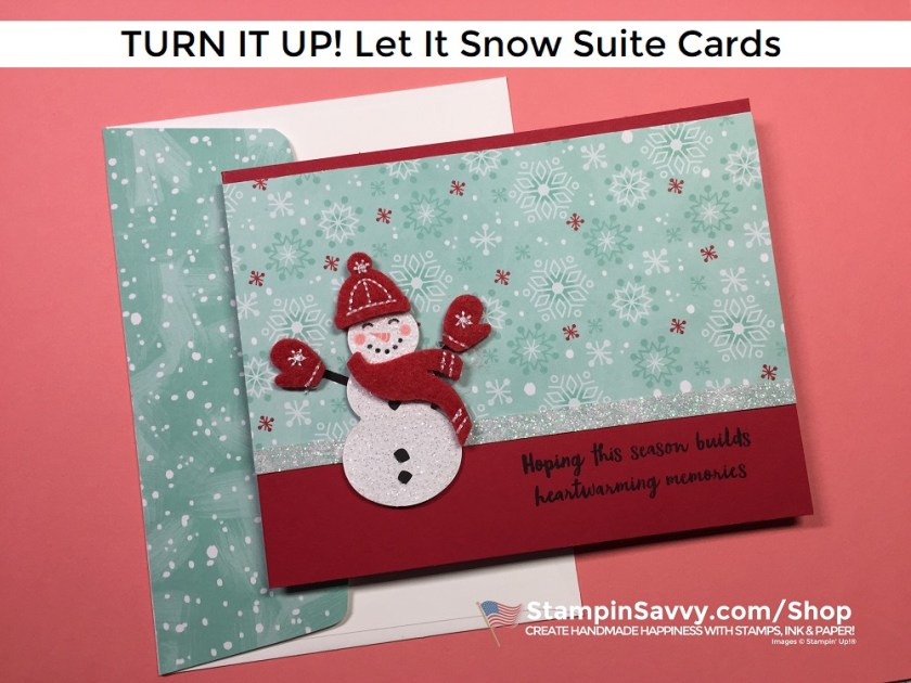 LET-IT-SNOW-SUITE-TURN-IT-UP-CARD-IDEAS-SNOWMAN-SEASON-TAMMY-BEARD-STAMPIN-SAVVY-STAMPIN-UP