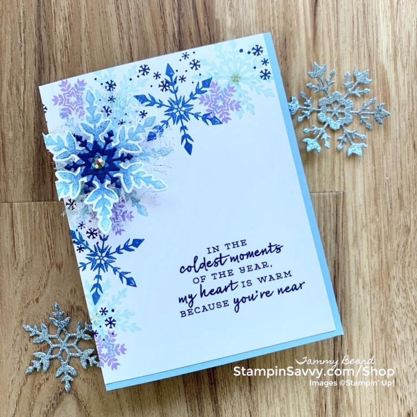 SNOWFLAKE-WISHES-COLORFUL-CARD-TAMMY-BEARD-STAMPIN-SAVVY