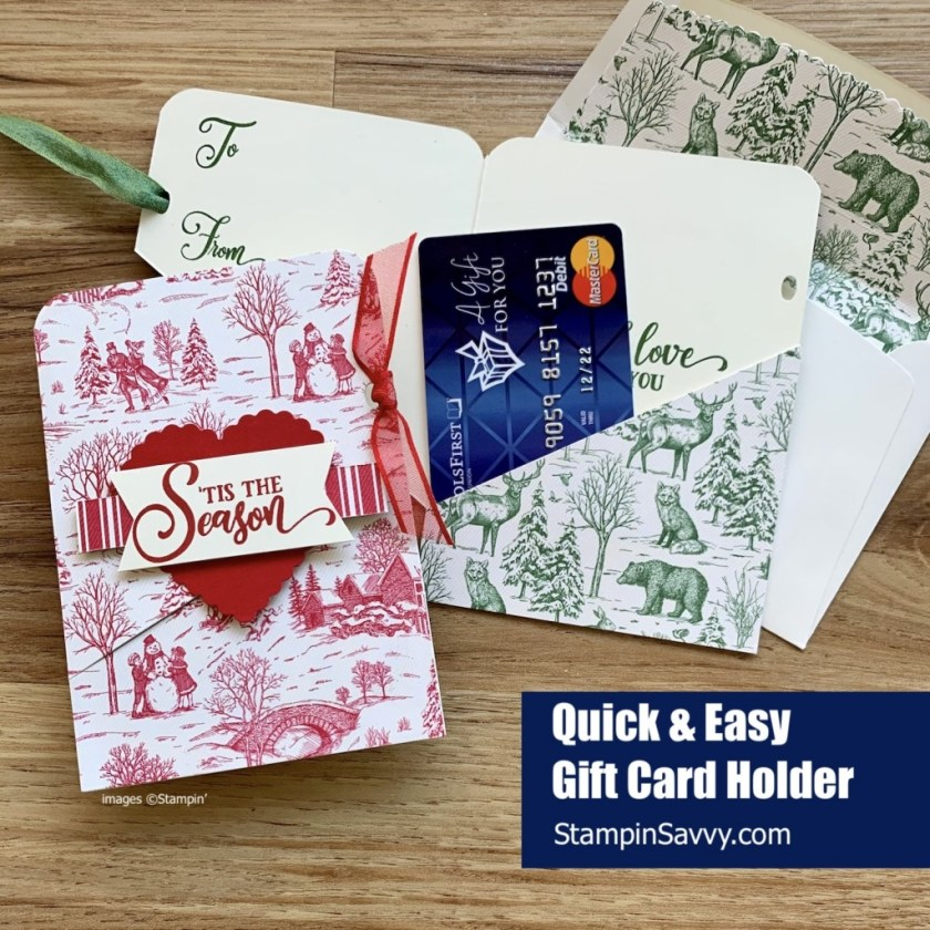 QUICK-AND-EASY-GIFT-CARD-HOLDER-TOILE-TIDINGS-TAG-BUFFET-TAMMY-BEARD-STAMPIN-SAVVY-UP