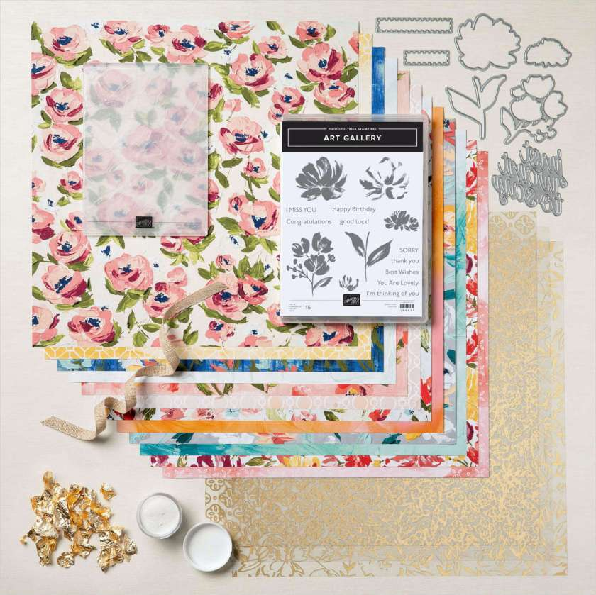 FINE ART FLORAL SUITE COLLECTION - STAMPINSAVVY.COM