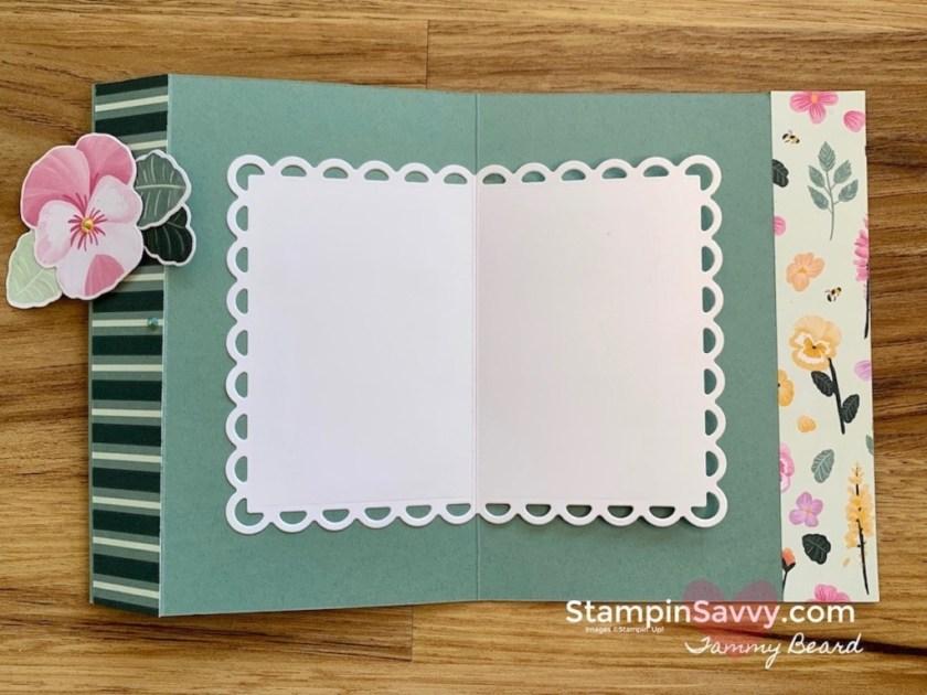 EASY-FUN-FOLD-CARD-PANSY-PETALS-TAMMY-BEARD-STAMPIN-SAVVY