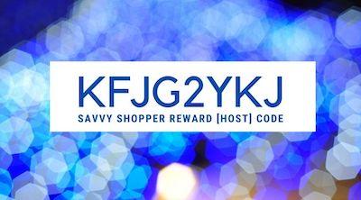 SAVVY SHOPPER REWARD CODE FOR SEEPTEMBER 2021 IS KFJG2YKJ AT STAMPINSAVVY.COM