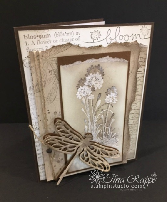 Stampin' Sisters Retreat, 3rd Place Card Contest Winner,  Stampin' Studio