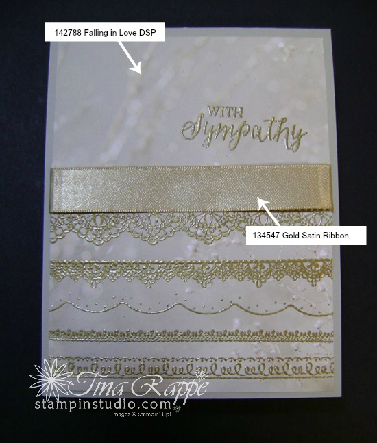 Stampin' Up! Sale-a-bration 2017,Delicate Details Falling in Love DSP, Stampin' Studio