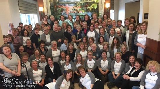 Stampin' Sisters retreat 2017
