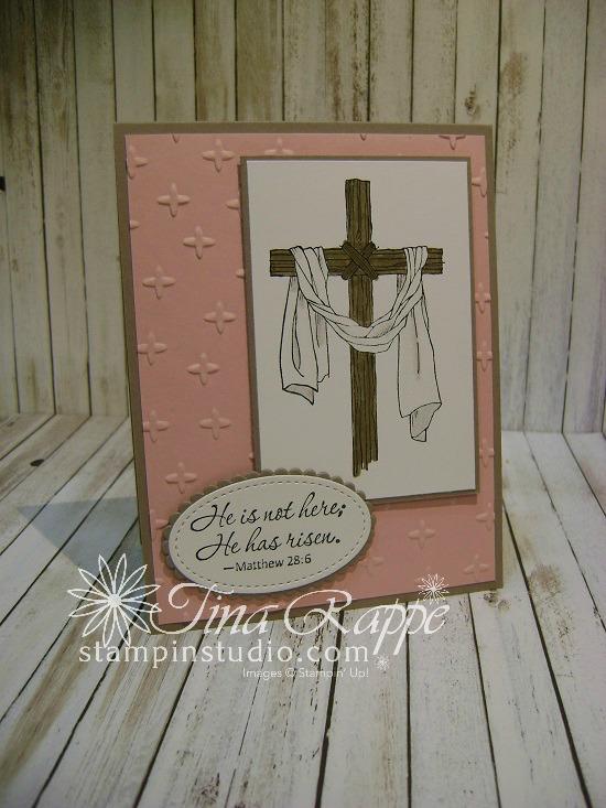 Stampin' Up! Easter Message stamp set. Easter Card, Stampin' Studio
