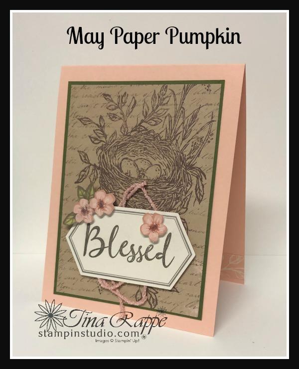 Stampin' Up! May 2019 Paper Pumpkin, Stampin' Studio