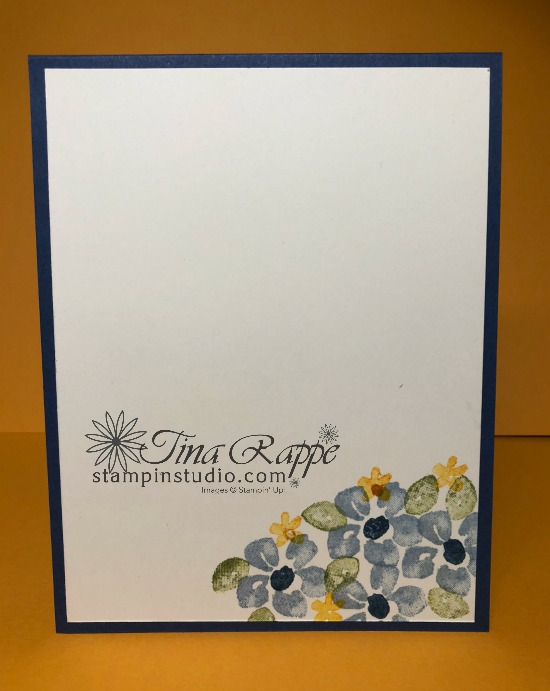 Stampin' Up! Blossoms in Bloom Bundle, How to create a Watercolor Wash with images, Stampin' Studio