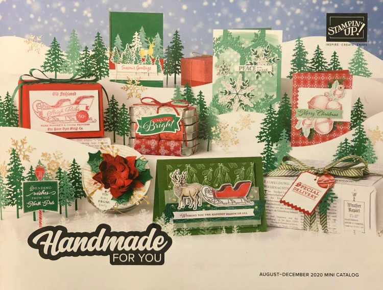 Stampin' Up! 2020 Holiday Mini Catalog, August - December 2020 Mini Catalog, Stampin' Studio