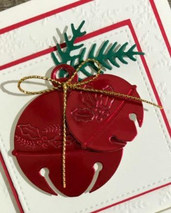 Stampin' Up! Cherish the Season Bundle, Easy Christmas Card, Stampin' Studio