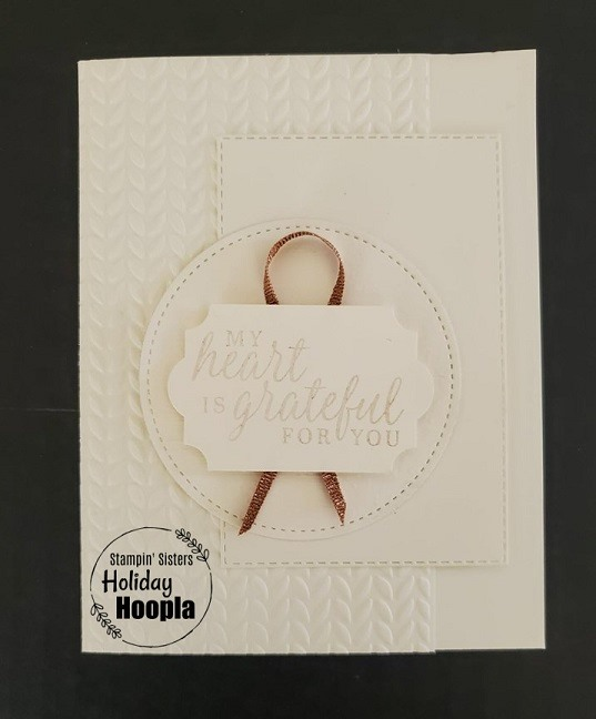 Stampin' Up, Gilded Autumn Suite, Stampin' Sisters Holiday Hoopla, Stampin' Studio