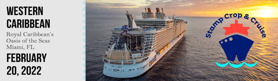 Stamp, Crop & Cruise Retreat